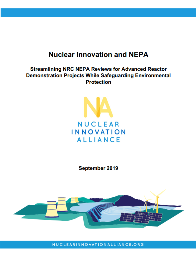 Streamling NRC NEPA Reviews for Advanced Reactor Demonstration Projects